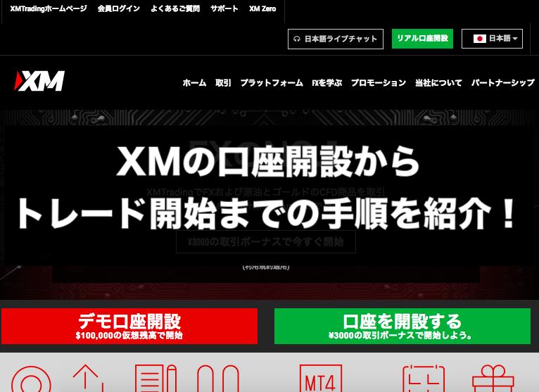 XMの口座開設からボーナスの受け取り&トレード開始までの方法を紹介!