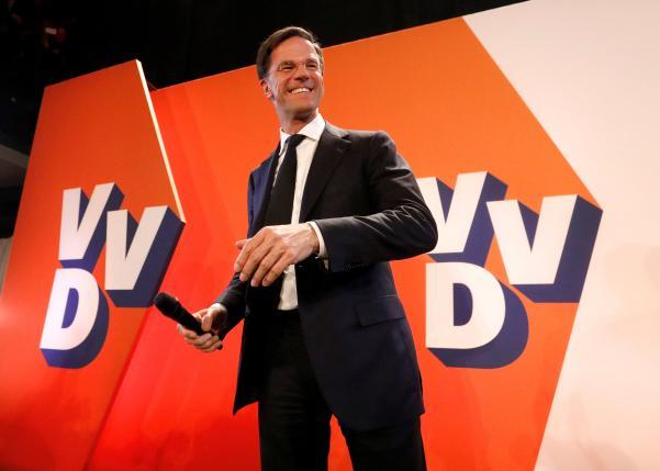オランダ総選挙では自由民主党が第一政党を維持